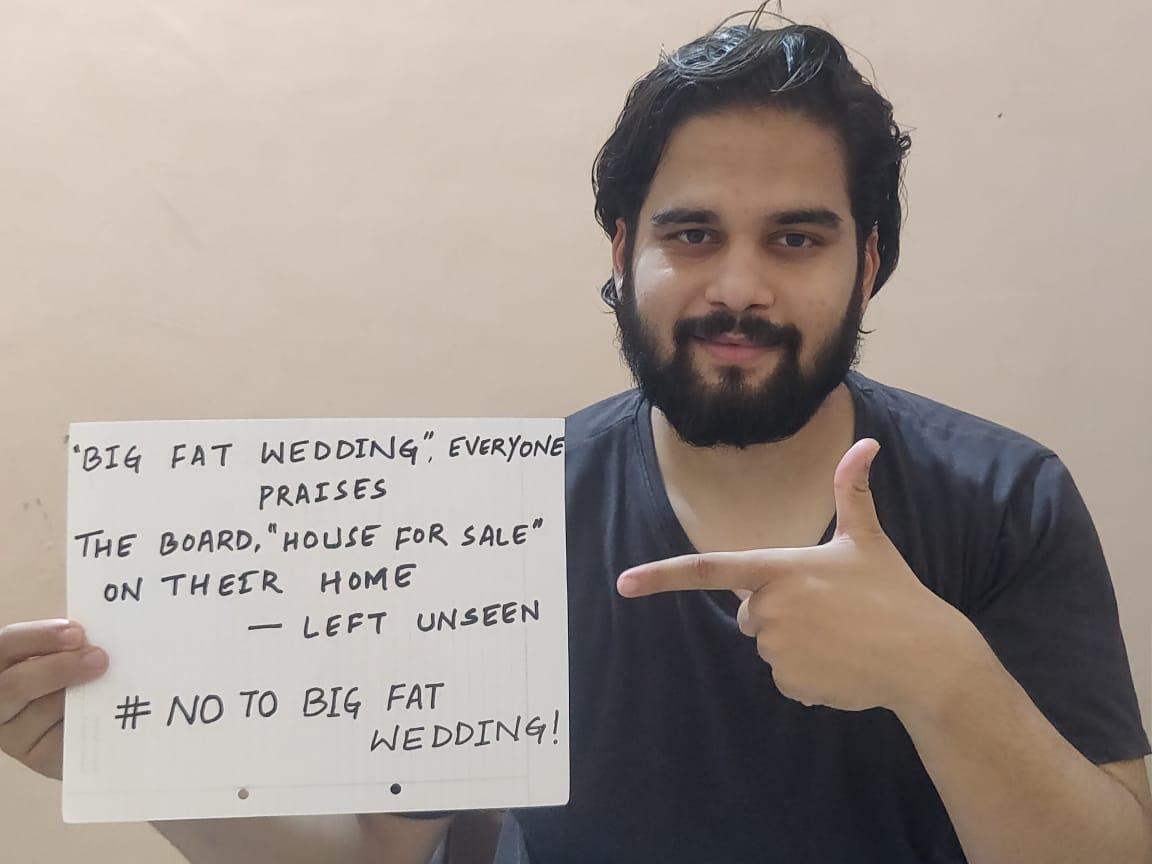No Big Fat wedding